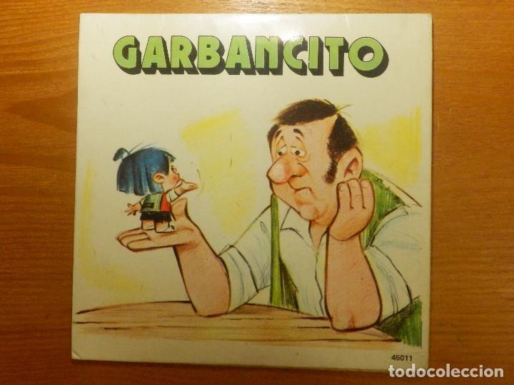 DISCO DE VINIO - SINGLE - GARBANCITO - YUPY - CUENTO INFANTIL - (Música - Discos - Singles Vinilo - Música Infantil)