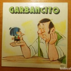 Discos de vinilo: DISCO DE VINIO - SINGLE - GARBANCITO - YUPY - CUENTO INFANTIL -. Lote 118599087