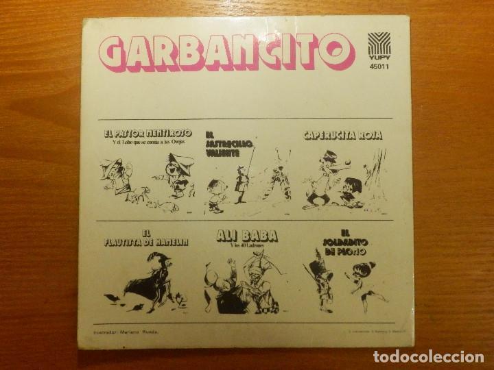 Discos de vinilo: Disco de Vinio - Single - Garbancito - Yupy - Cuento Infantil - - Foto 2 - 118599087
