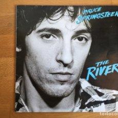 Discos de vinilo: BRUCE SPRINSTEEN: THE RIVER (COMPLETO, CON LOS ENCARTES Y HOJAS CON LAS LETRAS). Lote 118615859