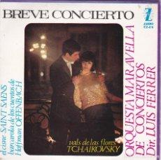 Discos de vinilo: ORQUESTA MARAVELLA,BREVE CONCIERTO DEL 65. Lote 118616315
