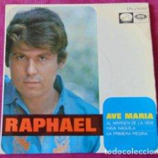 Discos de vinilo: RAPHAEL - AVE MARIA + 3 - EP. Lote 118629927