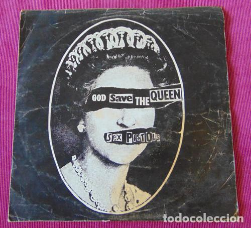The Sex Pistols Rare Original Signed God Save The Queen Cover