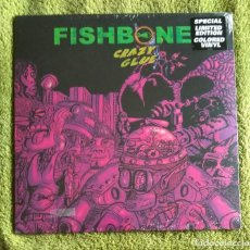 Discos de vinilo: FISHBONE - CRAZY GLUE 12'' MINI LP - ROCK ALTERNATIVO FUNK SKA. Lote 118630711