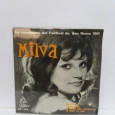 Discos de vinilo: EP ** MILVA ** AL DI LA ** COVER/ NEAR MINT/ MINT ** EP/ EXCELLENT ** 1961. Lote 118639051