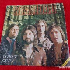Discos de vinilo: REALIDAD - SG NOVOLA 1971 OCASO DE UN AMOR / CANTA HERRERO ARMENTEROS. Lote 118641079