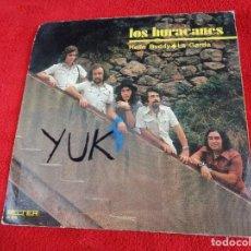 Discos de vinilo: LOS HURACANES - HELLO BUDDY / LA GORDA - BELTER 1971. Lote 118641263