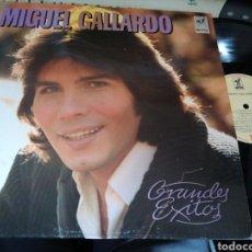 Dischi in vinile: MIGUEL GALLARDO LP GRANDES ÉXITOS.1988. Lote 118642492