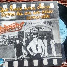 Discos de vinilo: SINGLE (VINILO) DE BURNING AÑOS 70. Lote 118646815