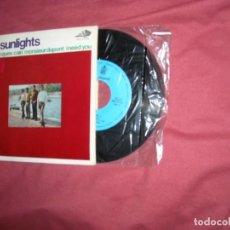 Discos de vinilo: LES SUNLIGHTS EP GRAND JACQUES + 3 TEMAS 1967 SPA. Lote 118658619