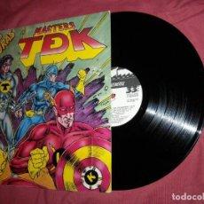 Discos de vinilo: MASTERS TDK LAS NUEVAS AVENTURAS LP 1989 LA GENERAL VER FOTOS. Lote 118663539