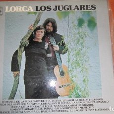 Discos de vinilo: LOS JUGLARES - LORCA. Lote 118681671