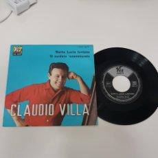 Discos de vinilo: SANTA LUCIA LUNTANA CLAUDIO VILLA. Lote 118683006