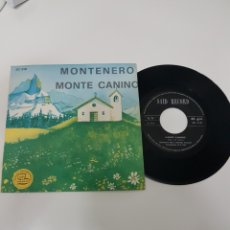 Discos de vinilo: MONTE CANINO- SALVATORE IDÁ E MATILDE VENNERI. Lote 118683064