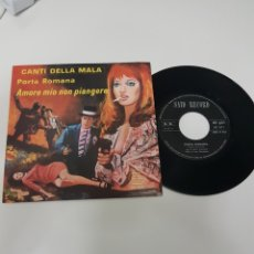 Discos de vinilo: PORTA ROMANA- CANTI DELLA MALA. Lote 118683100