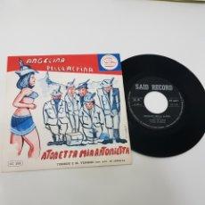 Discos de vinilo: ANGELINA BELLA ALPINA- TURIDDU E VENNERI. Lote 118684071
