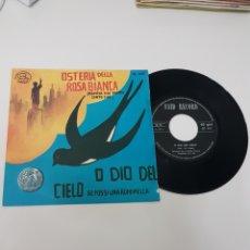 Discos de vinilo: O DIO DEL CIELO- OSTERIA DELLA ROSA BIANCA. Lote 118684243