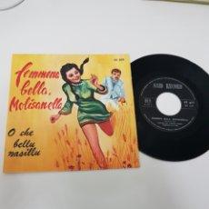 Discos de vinilo: FEMMENA BELLA , MOLISANELLA. Lote 118684298