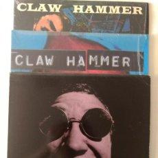Discos de vinilo: 3 LPS CLAWHAMMER. Lote 118699070