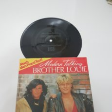 Discos de vinilo: MODERN TALKING - BROTHER LOUIE- EDICION ESPECIAL PEPSI MADE U.K.. Lote 118714748