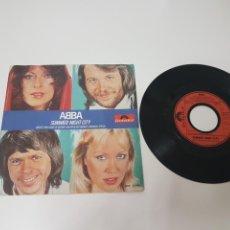 Discos de vinilo: ABBA SUMMER NIGHT CITY 1978. Lote 118714562