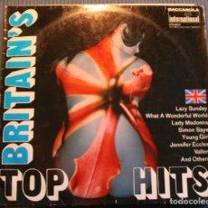Discos de vinilo: BRITAIN´S TOP HITS. Lote 118720303