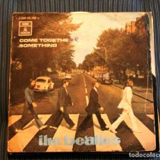 Discos de vinilo: THE BEATLES COME TOGETHER SOMETHING - SPAIN 1969 - 45 RPM. Lote 118721603