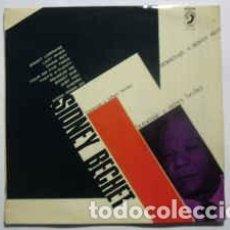 Discos de vinilo: SIDNEY BECHET / MUGGSY SPANIER AND HIS ALL STARS - UN HOMENAJE A SIDNEY BECHET (LP, COMP) LABEL:DIS. Lote 118723627