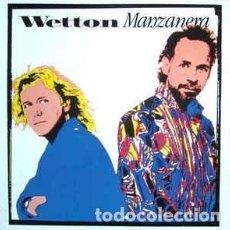Discos de vinilo: WETTON* / MANZANERA* - WETTON / MANZANERA (LP, ALBUM) LABEL:GEFFEN RECORDS CAT#: 924 147-1 . Lote 118728431