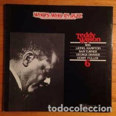 Discos de vinilo: TEDDY WILSON - TEDDY WILSON (LP, ALBUM) LABEL:PHONIC, WHO'S WHO IN JAZZ CAT#: DRL. 6306 . Lote 118731099