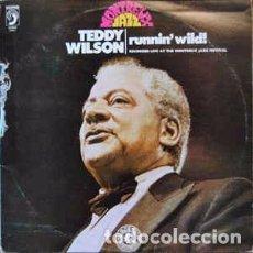 Discos de vinilo: TEDDY WILSON - RUNNIN' WILD (LP) LABEL:DISCOPHON CAT#: J-4461 . Lote 118732151