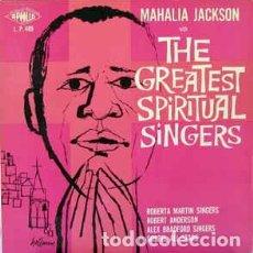 Discos de vinilo: VARIOUS - MAHALIA JACKSON WITH THE GREATEST SPIRITUAL SINGERS (LP, ALBUM) LABEL:APOLLO RECORDS (2) . Lote 118732767