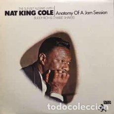 Discos de vinilo: NAT KING COLE - ANATOMY OF A JAM SESSION (LP, COMP, RE) LABEL:BLACK LION RECORDS CAT#: J-4252 . Lote 118732923