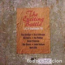 Discos de vinilo: VARIOUS - THE EXCITING BATTLE J.A.T.P. STOCKHOLM '55 (LP, ALBUM, PROMO) LABEL:PABLO RECORDS CAT#: 2. Lote 118733299