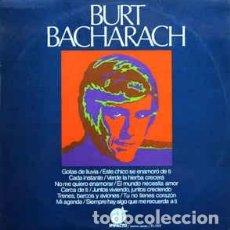 Discos de vinilo: BURT BACHARACH - BURT BACHARACH (LP, COMP) LABEL:IMPACTO CAT#: EL-052 . Lote 118734823