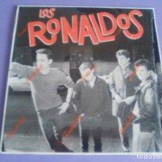 Discos de vinilo: RARO LP ORIGINAL. LOS RONALDOS. LOS RONALDOS. AÑO 1987..EMI.062 12 2205 1.+ ENCARTE.. Lote 182797468