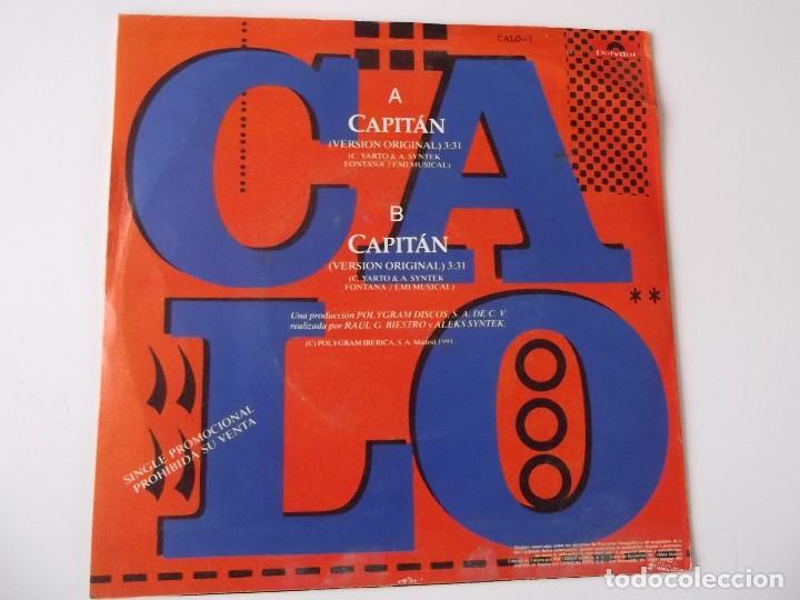 Discos de vinilo: CALO - Capitán - Foto 2 - 118741895