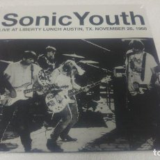 Discos de vinilo: SONIC YOUTH - LIVE AT LIBERTY LUNCH AUSTIN 1988 -. Lote 118743883