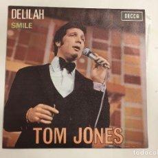 Discos de vinilo: TOM JONES DELILAH DE DECCA REFERENCIA ME 389 DE 1968. Lote 118745683
