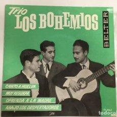 Discos de vinilo: TRIO LOS BOHEMIOS DE BELTER REF. 51047 IMPECABLE EN BOLSA, SIN USAR. Lote 118748403