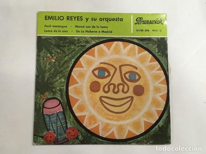 EMILIO REYES Y SU ORQUESTA PORUNSWICK REF 10720 DE DECCA , MAGNÍFICO SIN USAR (Música - Discos de Vinilo - Maxi Singles - Étnicas y Músicas del Mundo)