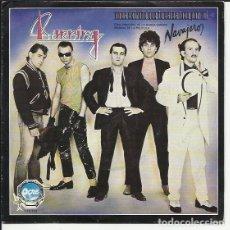 Discos de vinilo: BURNING SG OCRE BELTER 1980 NO ES EXTRAÑO QUE TU ESTES LOCA POR MI/ TU ERES MI AMOR BSO NAVAJEROS. Lote 176132308