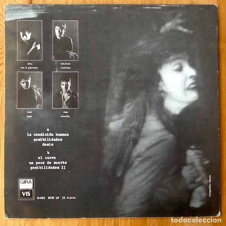 Discos de vinilo: PRIMERA LINEA : LA CONDICION HUMANA [ESP 1986] EP 12 - Foto 2 - 118770335
