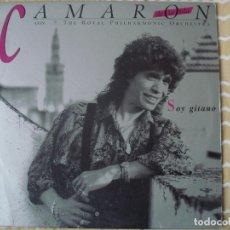 Discos de vinilo: CAMARON DE LA ISLA CON THE ROYAL PHILHARMONIC ORCHESTRA – SOY GITANO . Lote 118808691