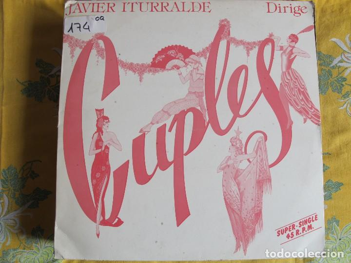 MAXI - JAVIER ITURRALDE - DIRIGE CUPLES (PROMO ESPAÑOL, HISPAVOX 1985) (Música - Discos de Vinilo - Maxi Singles - Orquestas)