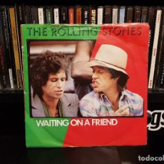 Vinyl records - THE ROLLING STONES - WAITING ON A FRIEND - 118832575