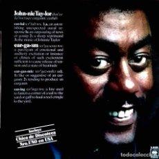 Discos de vinilo: JOHNNIE TAYLOR. EARGASM. LP ORIGINAL ESPAÑA.. Lote 118839619