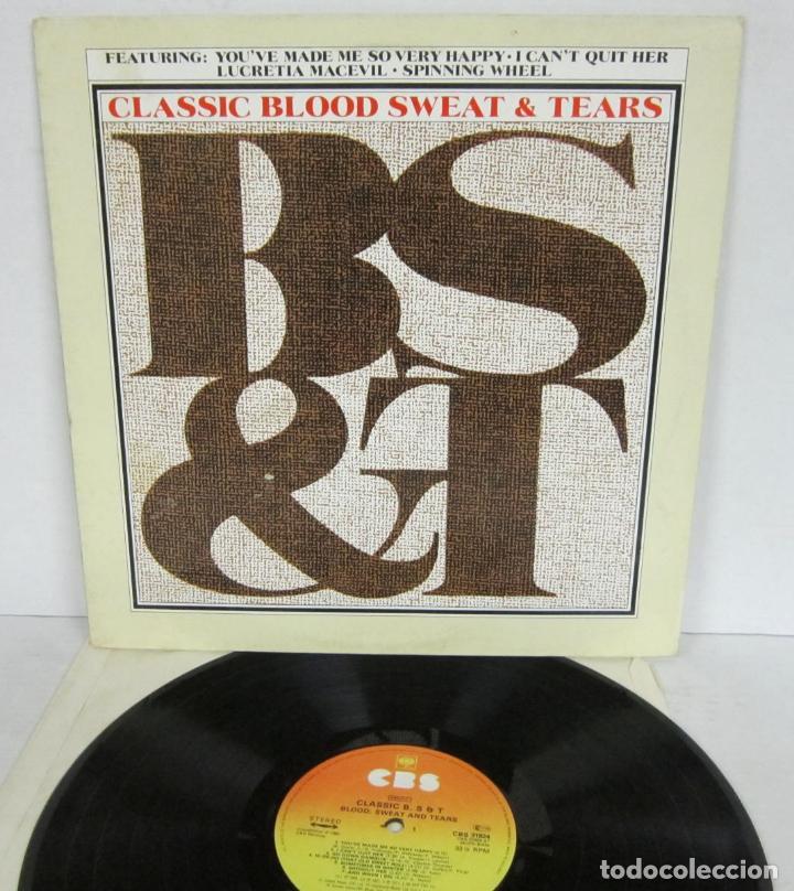 BLOOD SWEAT & TEARS - CLASSIC B, S & T - LP - CBS 1980 UK CBS 31824