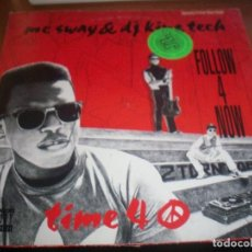Discos de vinilo: MC SWAY & DJ KING TECH. FOLLOW 4 NOW. . Lote 118894047