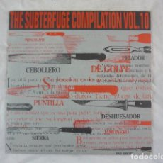 Discos de vinilo: THE SUBTERFUGE COMPILATION VOL.10 - 1994 - SUBTERFUGE RECORDS 21-046. Lote 118906387
